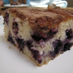 Best Ever Blueberry Coffee Cake