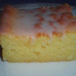 Best Lemon Sheet Cake ~ MOIST too, serve warm, or cold