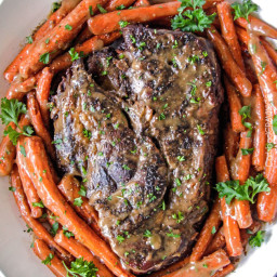 Best Pot Roast, Carrots and Gravy