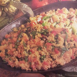 Best Vegetable Paella