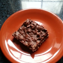 Best Ever Chocolate Oatmeal No-Bake Bars