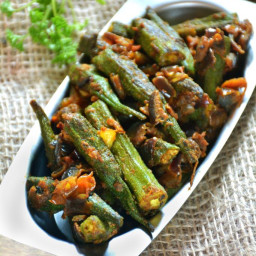 Bhindi masala or bhindi masala recipe | Okra recipes