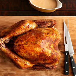 Big, Brined Herby Turkey