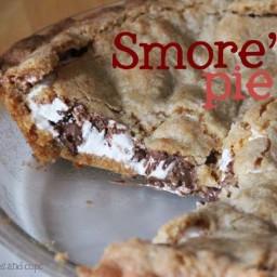 Big Girl Smore's Pie