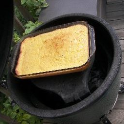 Big Green Egg - Souffle, Corn