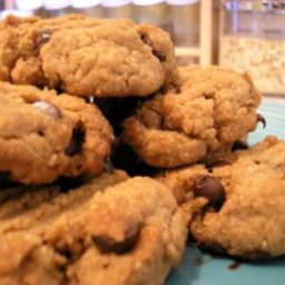 Bill's Peanut Butter Choc Chip Cookies