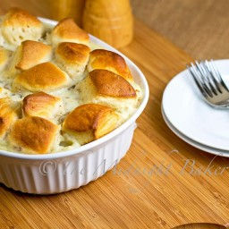 Biscuit and Gravy Pot Pie