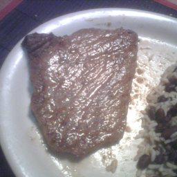 Bistec De Palomilla (Cuban Fried Steak)