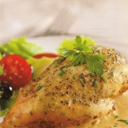 Bistro Chicken in Rich Cream Sauce