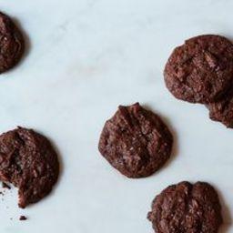 Bittersweet Chocolate, Orange and Cardamom Cookies