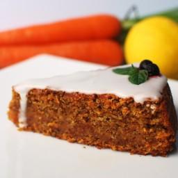 Bizcocho sin huevo y sin gluten de almendra y zanahoria con Thermomix®
