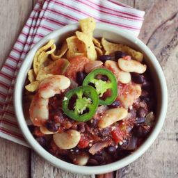 Black and White Chili