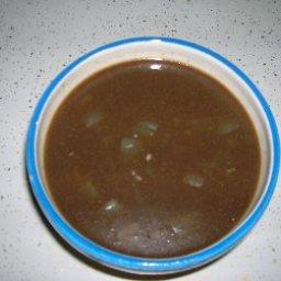 Black Bean Cocoa Lime Soup