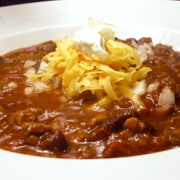 Black Bean Habanero Chili