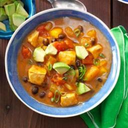 Black Bean 'n' Pumpkin Chili Recipe