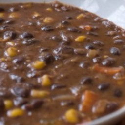 Black Bean & Smoked Turkey Soup (1+)
