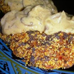 Black-Eyed Pea and Quinoa burgers