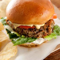 Black-Eyed Pea Vegan Burgers