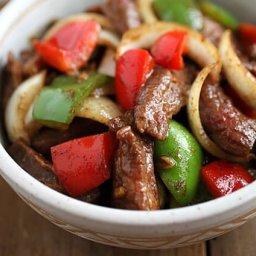 Black Pepper Steak Recipe