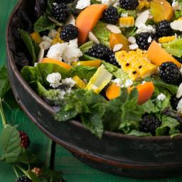 Blackberry Apricot Salad