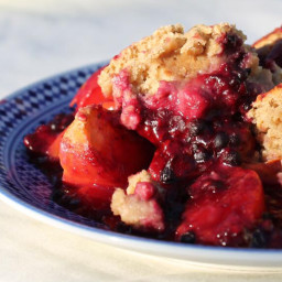 Blackberry-Peach Cobbler