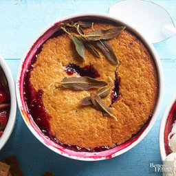 Blackberry Sage Cobbler