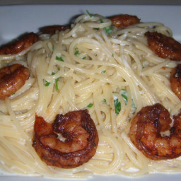 Blackened Shrimp Fettuccine