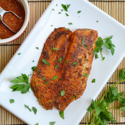 Blackened Tilapia