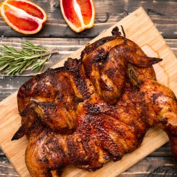 Blood Orange Smoked Chicken
