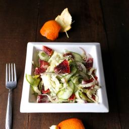 Blood Orange and Fennel Salad with Fresh Ginger Vinaigrette