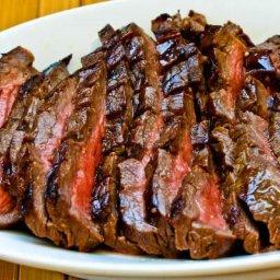 Bloody Mary Marinated Flank Steak