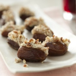 Blue Cheese and Pecan Stuffed Dates