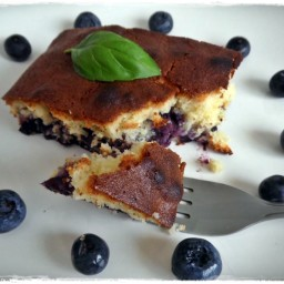 Blueberries & Lemon Cake