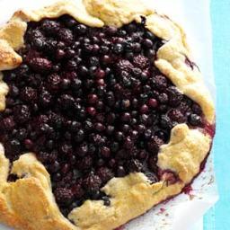 Blueberry-Blackberry Rustic Tart Recipe