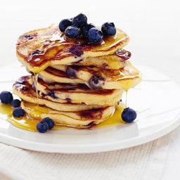 Blueberry & Buckwheat Pancakes