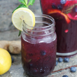 Blueberry Ginger Lemonade