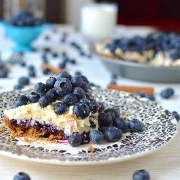 Blueberry Mascarpone Pie
