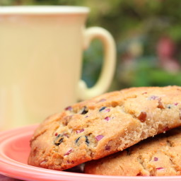 Blueberry, Cranberry and Pecan Soft Scones
