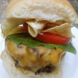 Bobby Flay's Crunch Burger