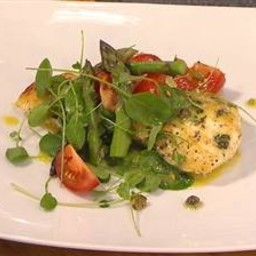 Bobby Flay's white Fish with Vinaigrette