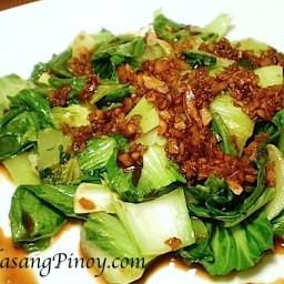 Bok Choy in Garlic Sauce