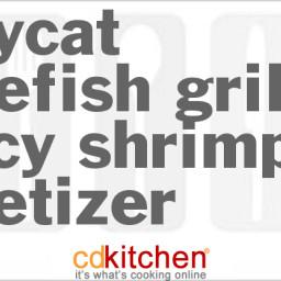Bonefish Grill Saucy Shrimp Appetizer