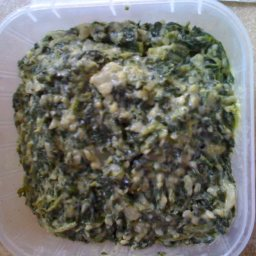 Boston Markets Creamed Spinach