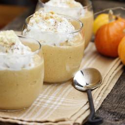 Bourbon Pumpkin Pie Milkshakes