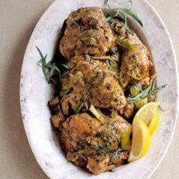 Braised Chicken Tarragon