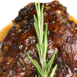 Braised Lamb Shanks with Rosemary