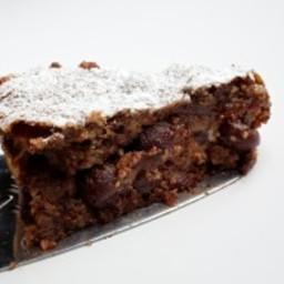 Brandied Cherry Chocolate Cake