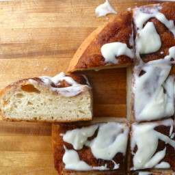 Bread Baking: Sweet Cinnamon Pizza?