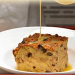 Bread Pudding & Whiskey Sauce