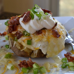 Breakfast Baked Potatoes